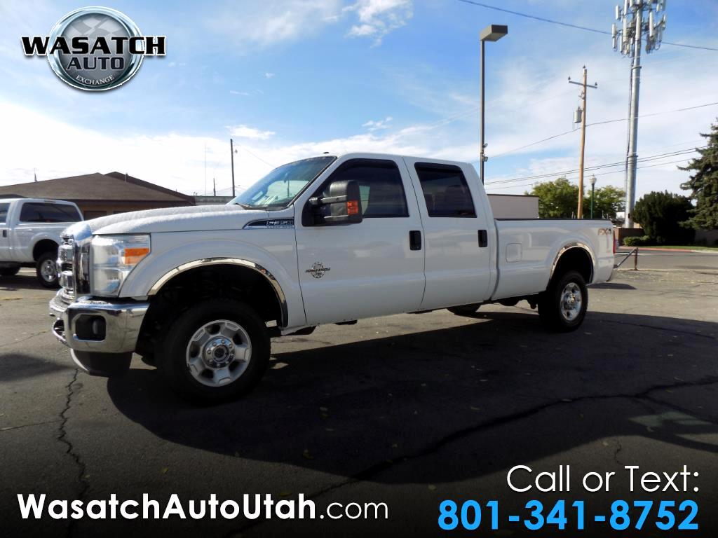 2012 Ford Super Duty F-350 SRW 4WD Crew Cab 172