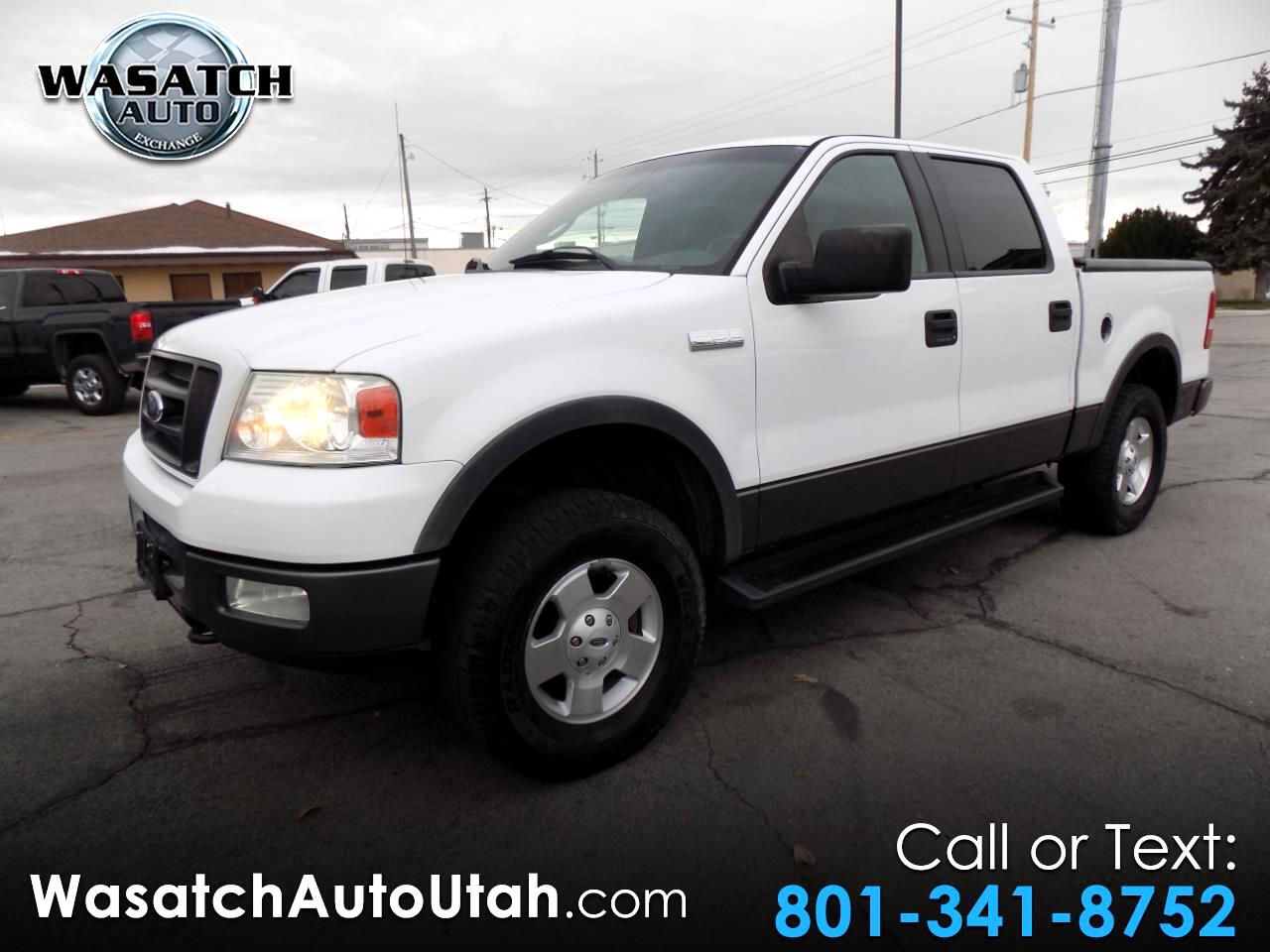 """2004 Ford F-150 SuperCrew 139"""" FX4 4WD"""