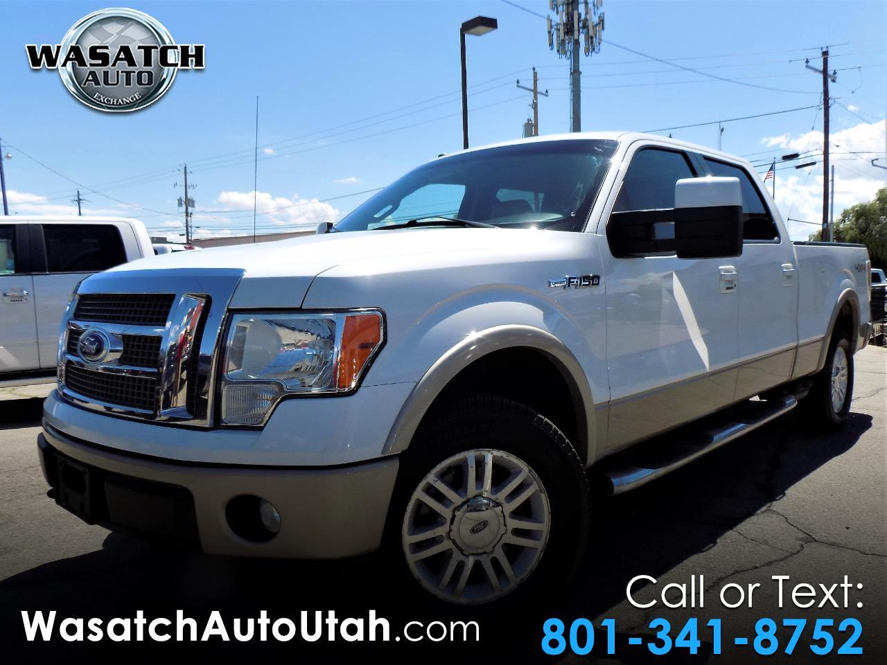 """2010 Ford F-150 4WD SuperCab 163"""" Lariat w/HD Payload Pkg"""
