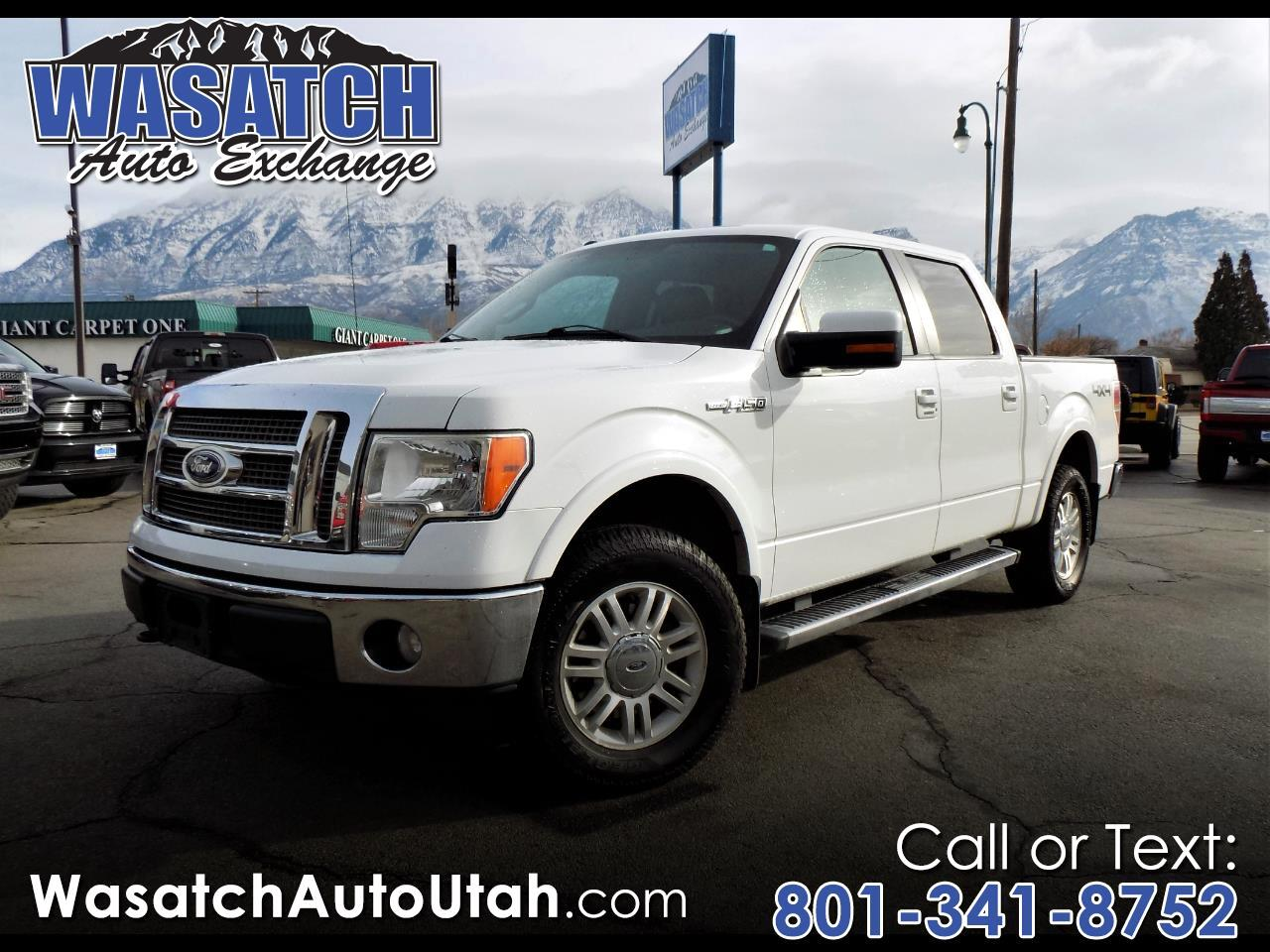 "Ford F-150 4WD SuperCrew 145"" Lariat 2010"