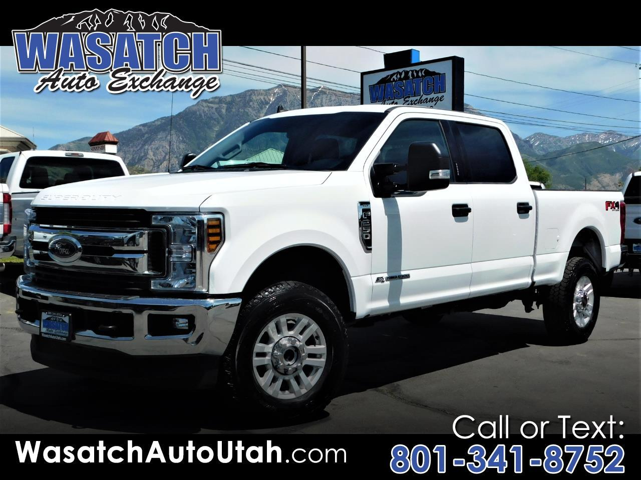 Ford Super Duty F-350 SRW XLT 4WD Crew Cab 6.75' Box 2019
