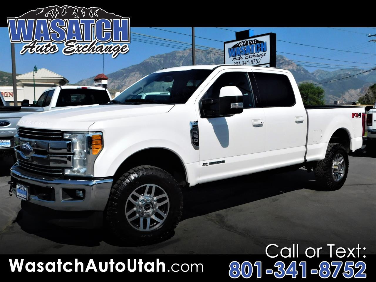 Ford Super Duty F-350 SRW Lariat 4WD Crew Cab 6.75' Box 2017