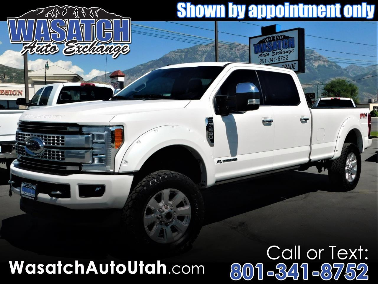 Ford Super Duty F-250 SRW Platinum 4WD Crew Cab 8' Box 2017