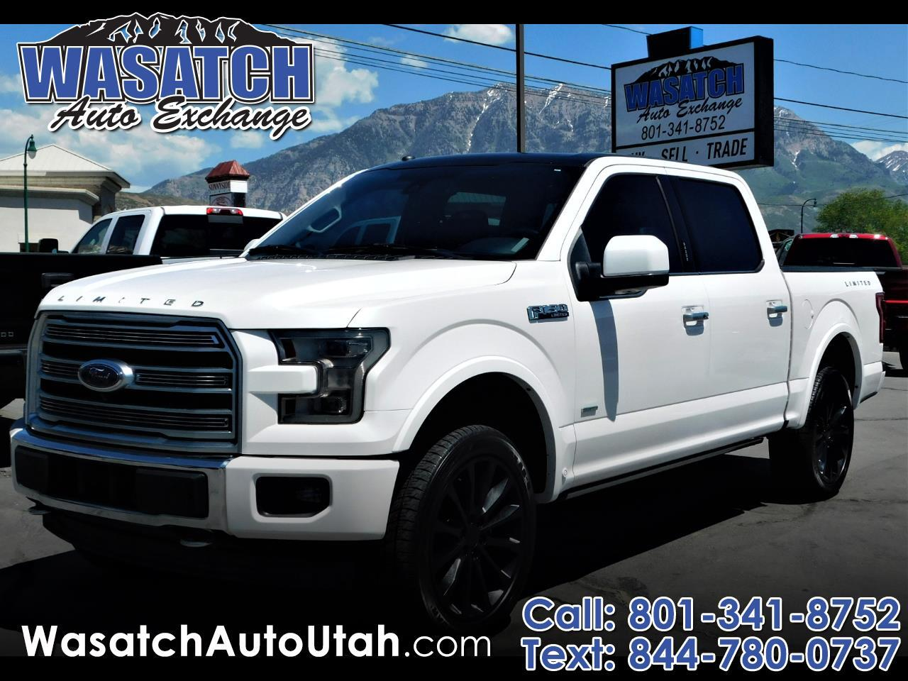 Ford F-150 Limited 4WD SuperCrew 5.5' Box 2017
