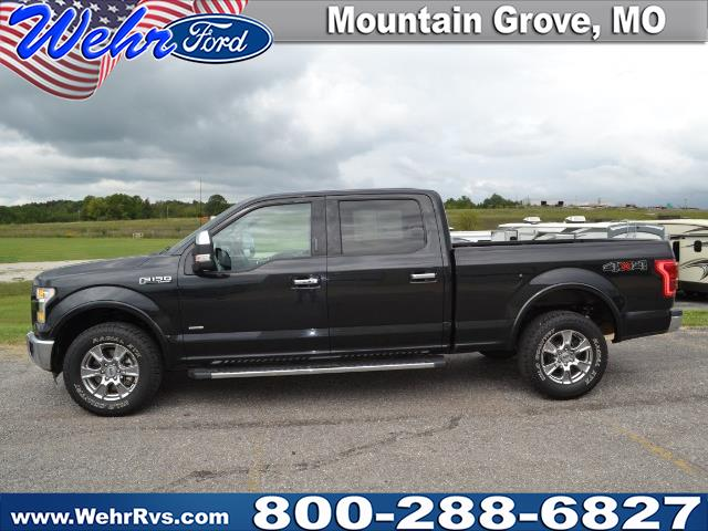 2015 Ford F-150 Lariat 4WD SuperCrew 6.5' Box
