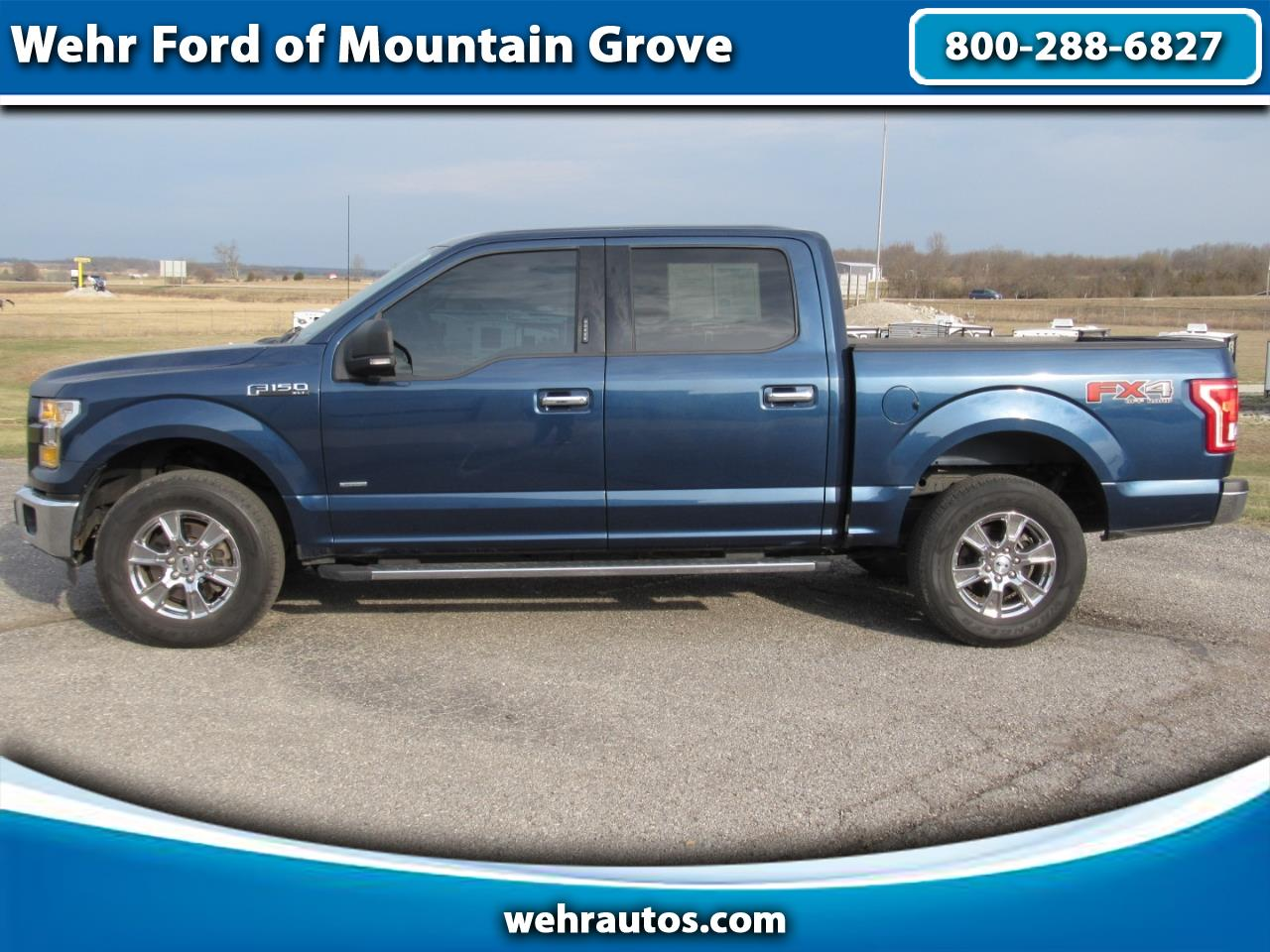 2015 Ford F-150 4WD Supercrew 4x4 XLT FX4