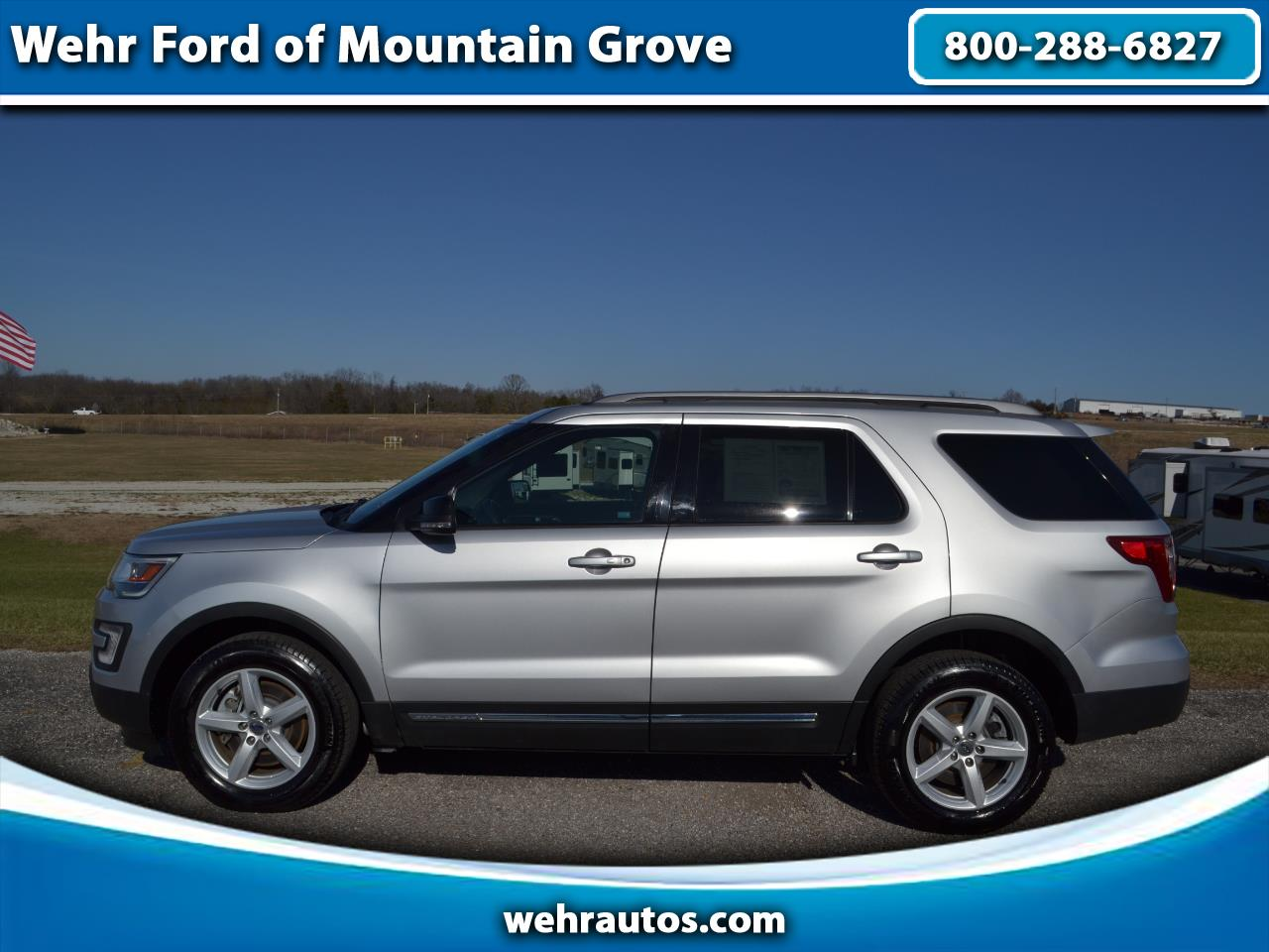 2017 Ford EXPLORER X XLT 4WD