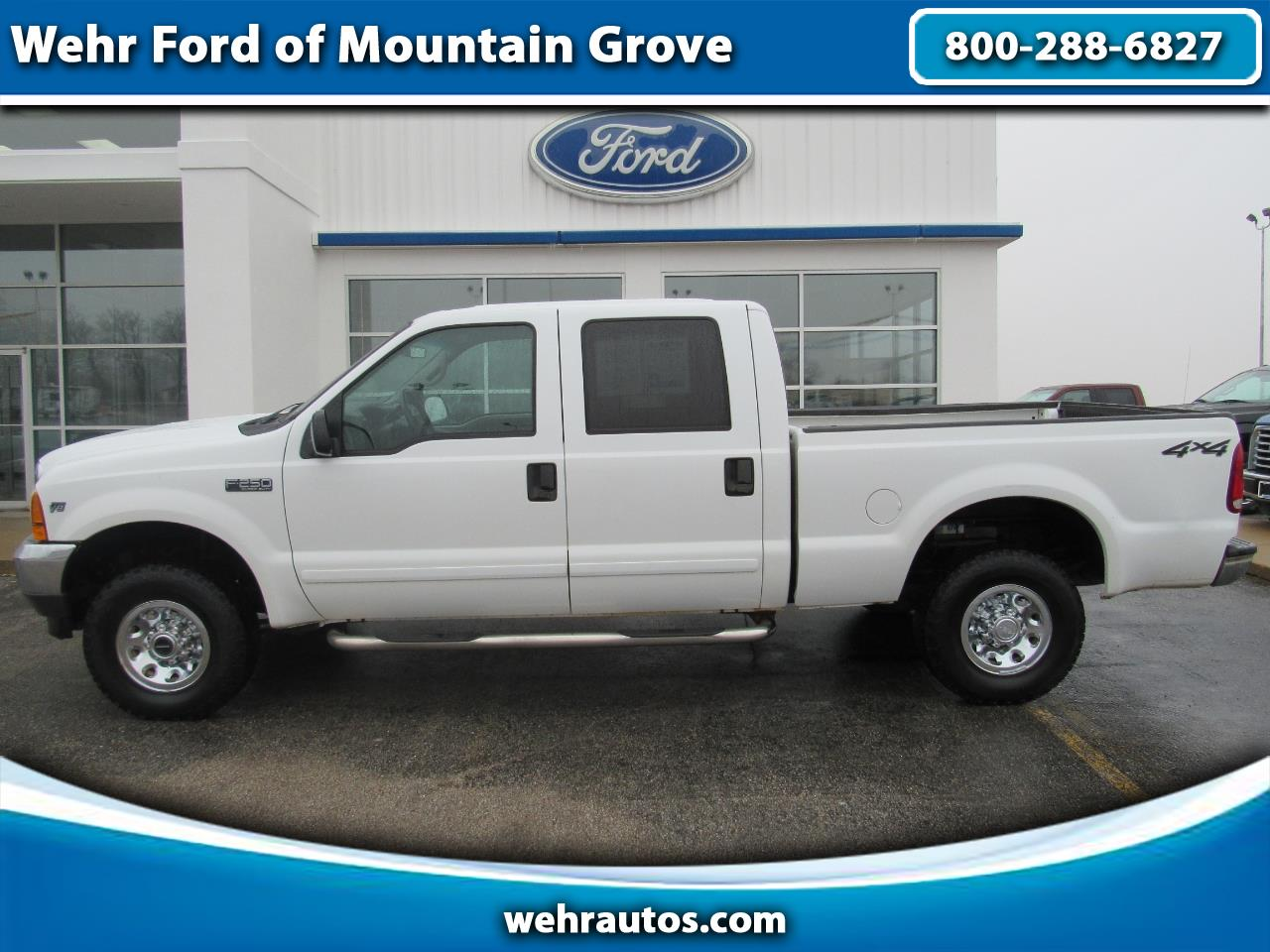 2001 Ford Super Duty F-250 Crew Cab XLT 4WD