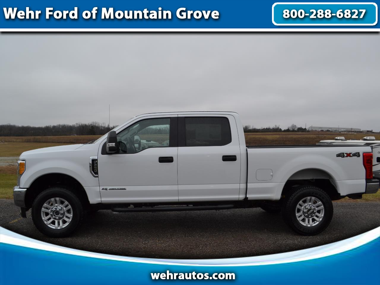 2017 Ford Super Duty F-250 XLT 4WD CREW CAB