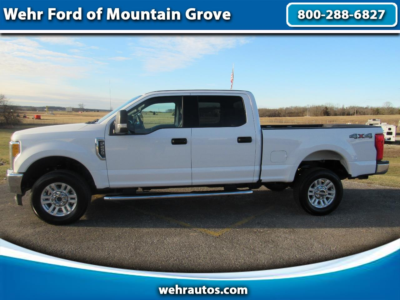 2017 Ford Super Duty F-250 XLT Crew Cab 4x4