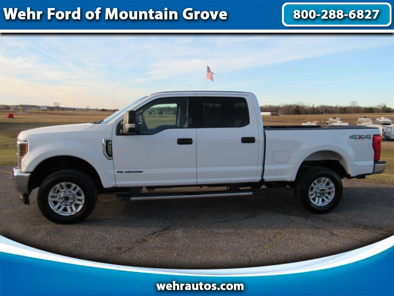 2018 Ford Super Duty F-250 XLT 4WD Crew Cab