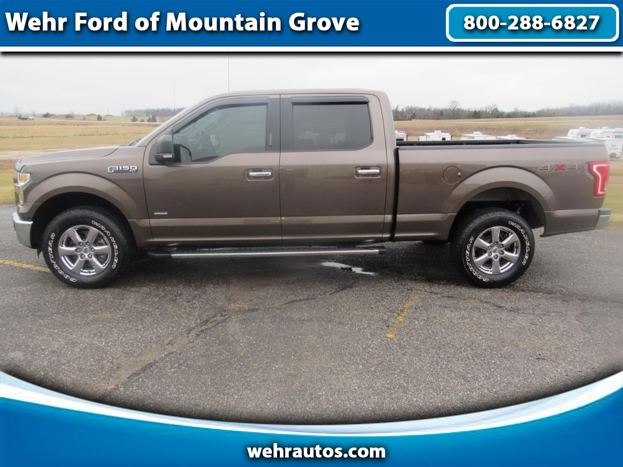 2015 Ford F-150 F150 4WD Supercrew XLT