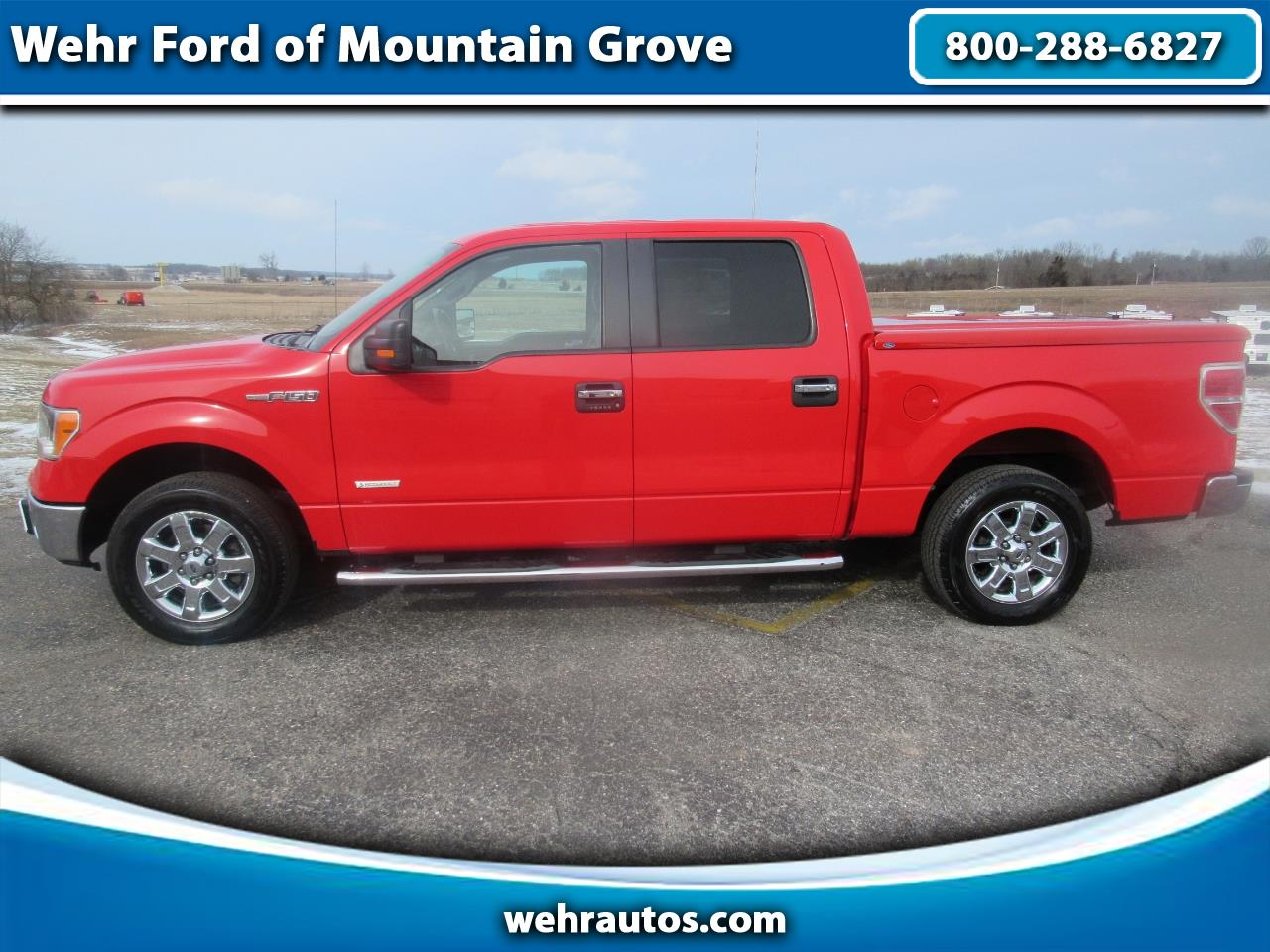 2014 Ford F-150 2WD Super Crew XLT