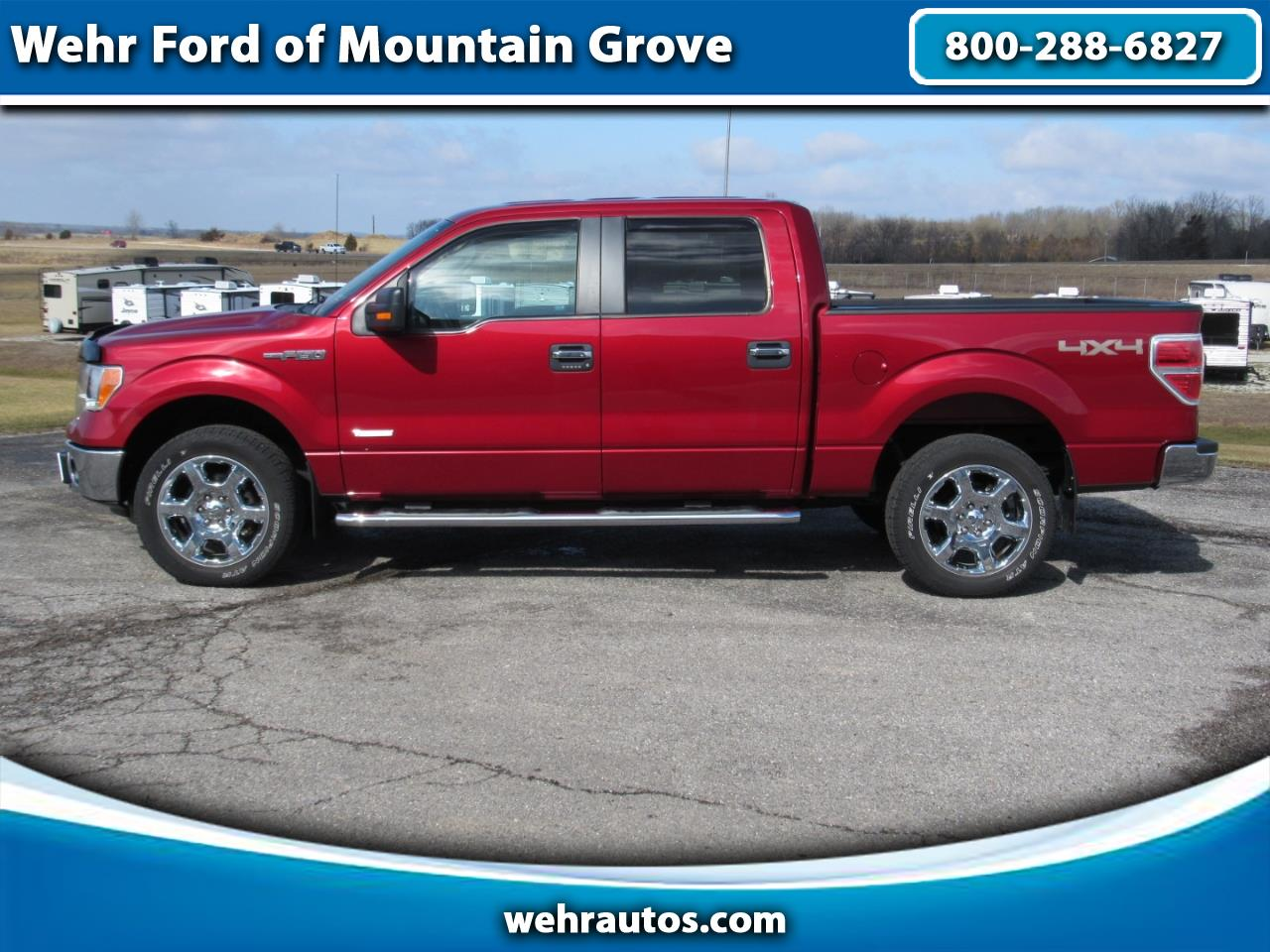 2014 Ford F-150 SuperCrew 4WD SuperCrew XLT