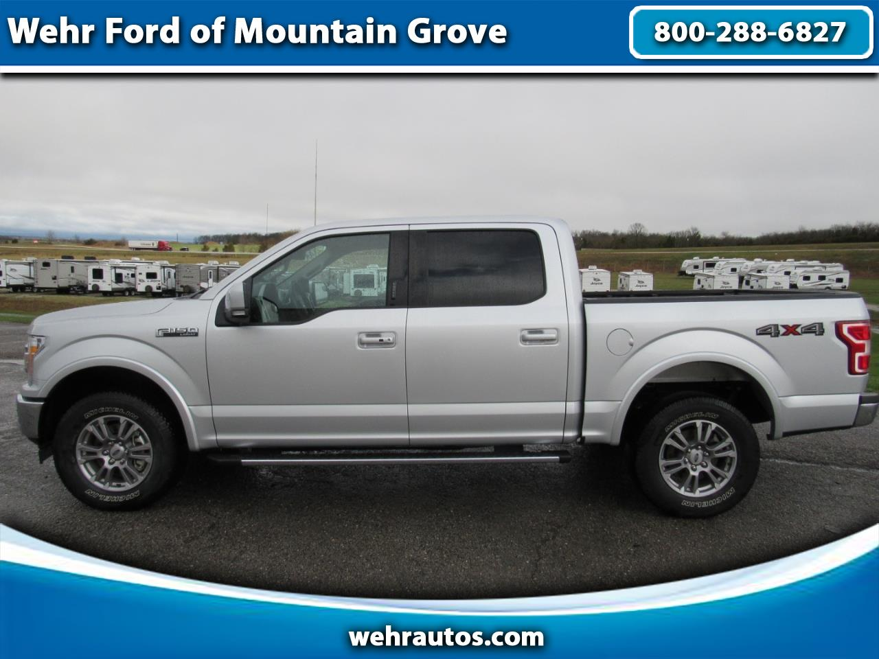 2018 Ford F-150 SuperCrew Lariat 4WD Crew Cab