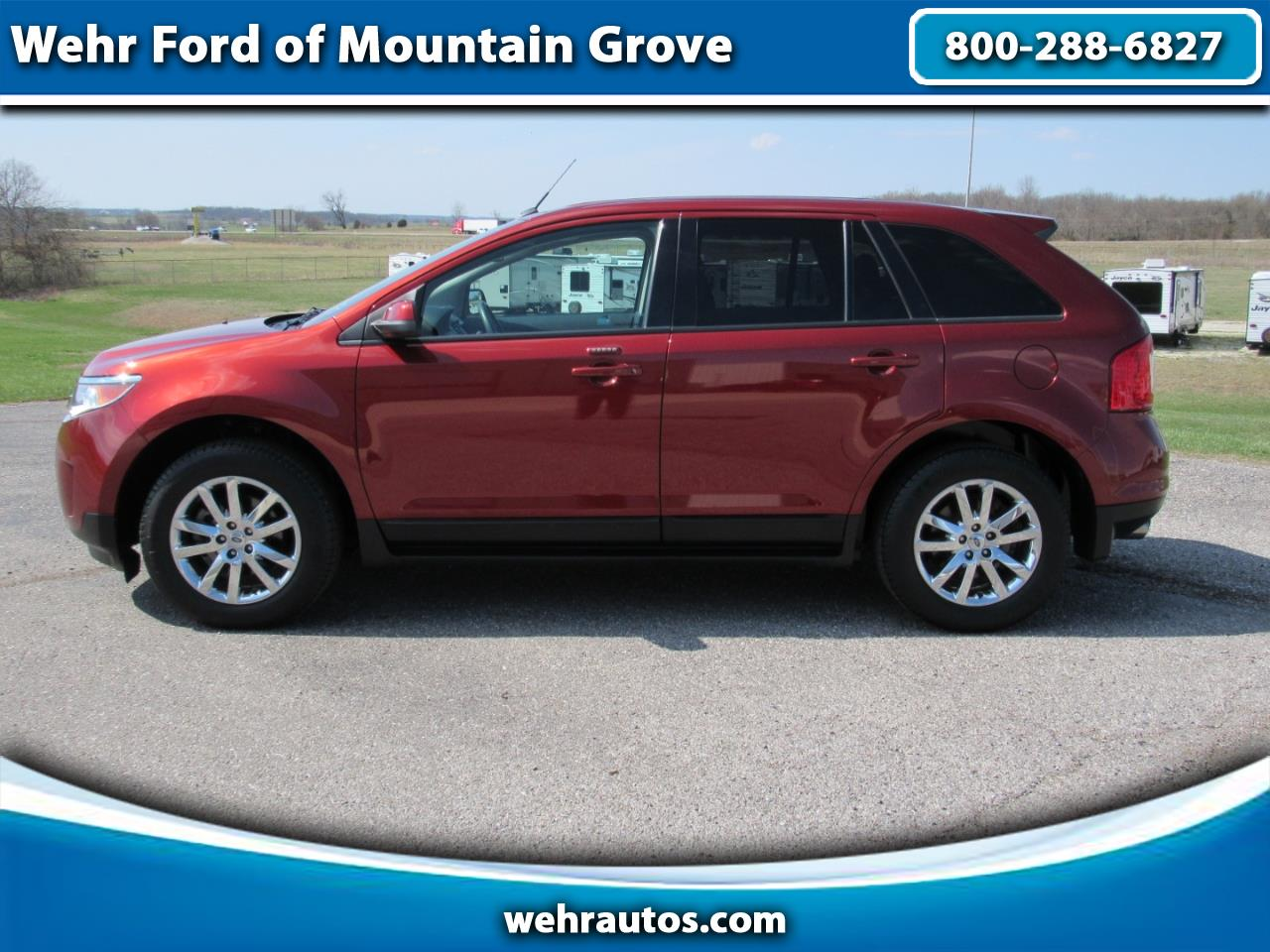 2014 Ford EDGE SEL 4dr SEL FWD