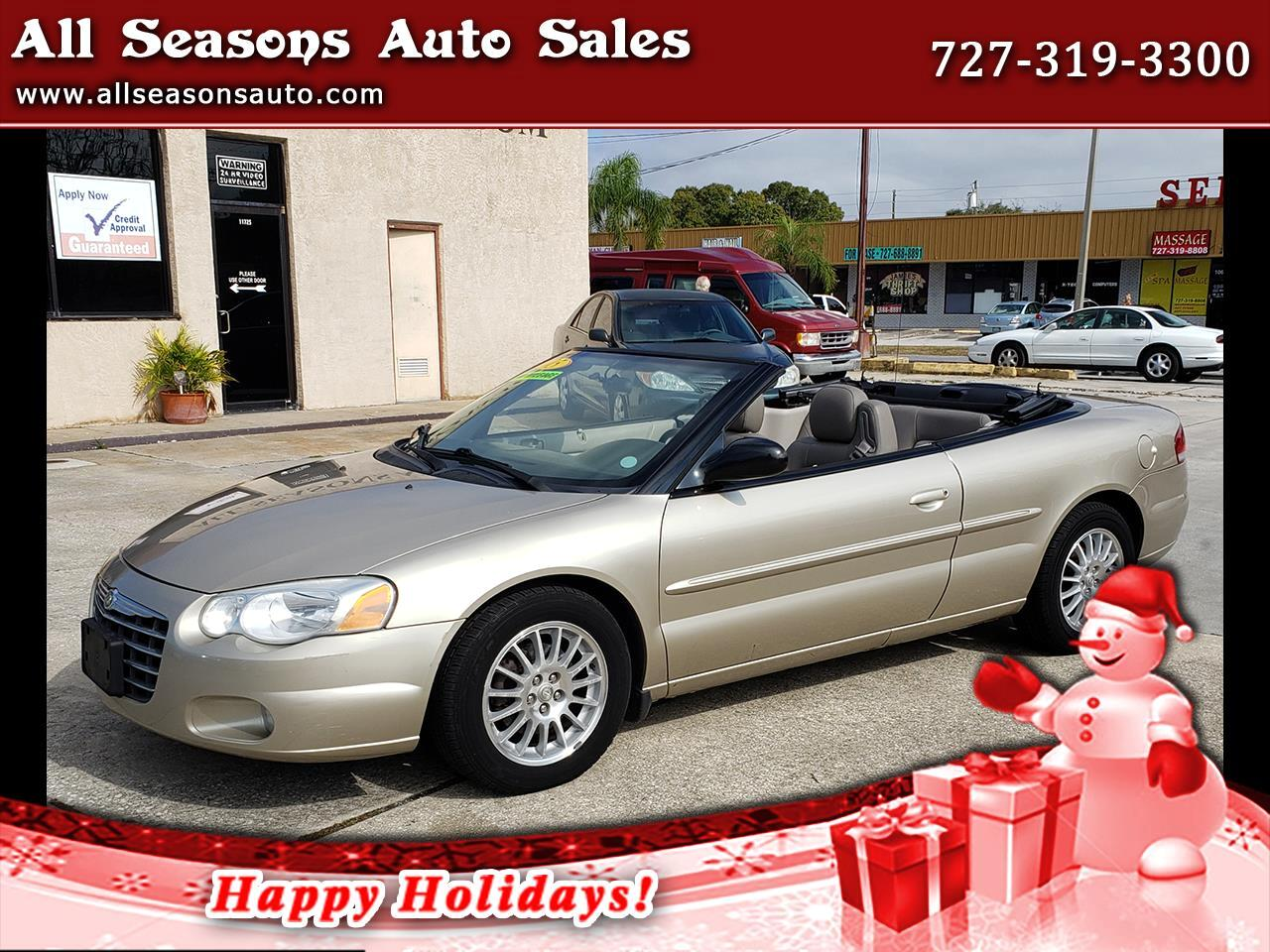 2005 Chrysler Sebring Touring Convertible