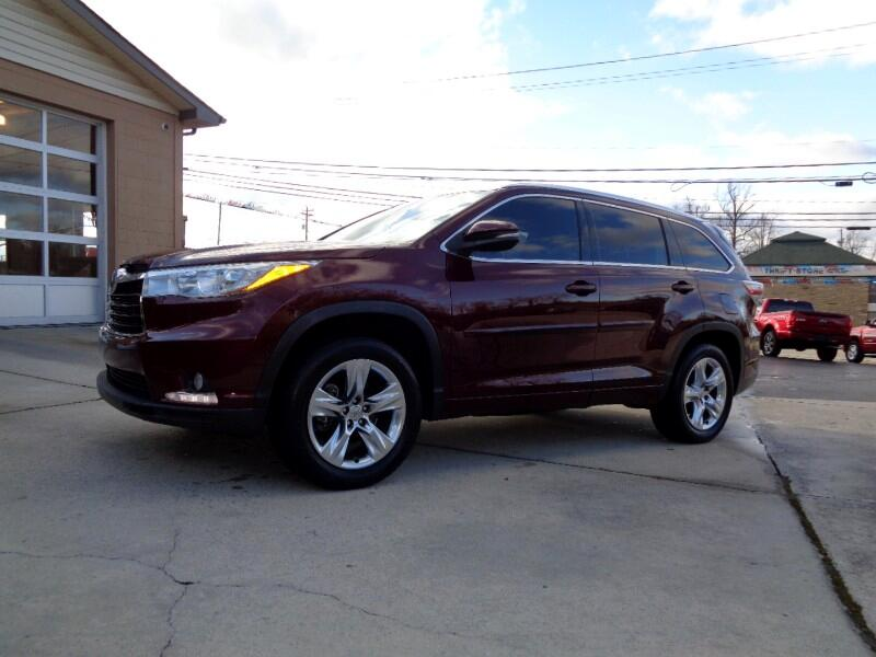 Toyota Highlander FWD 4dr V6  Limited (Natl) 2015