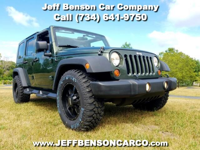 2008 Jeep Wrangler Unlimited 4dr 4WD