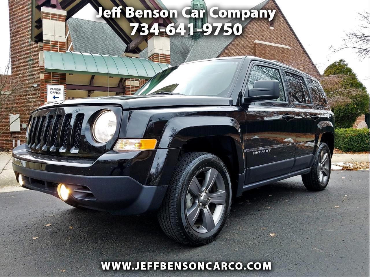 2015 Jeep Patriot 4WD 4dr High Altitude Edition