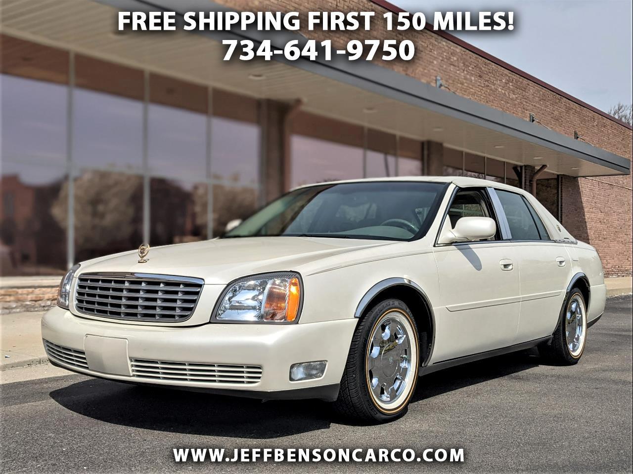 Cadillac DeVille 4dr Sdn 2001