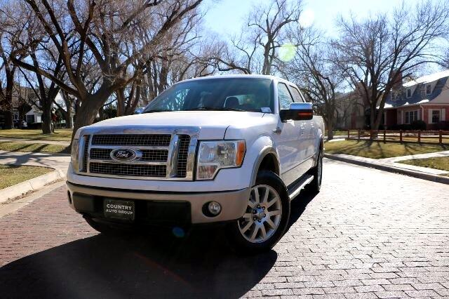 "Ford F-150 SuperCrew 150"" King Ranch 2010"