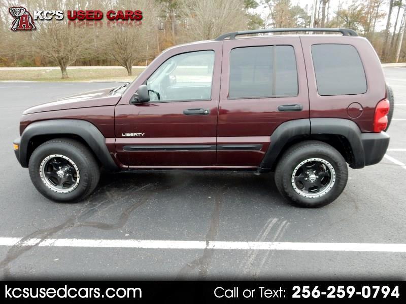 2004 Jeep Liberty 4dr Sport