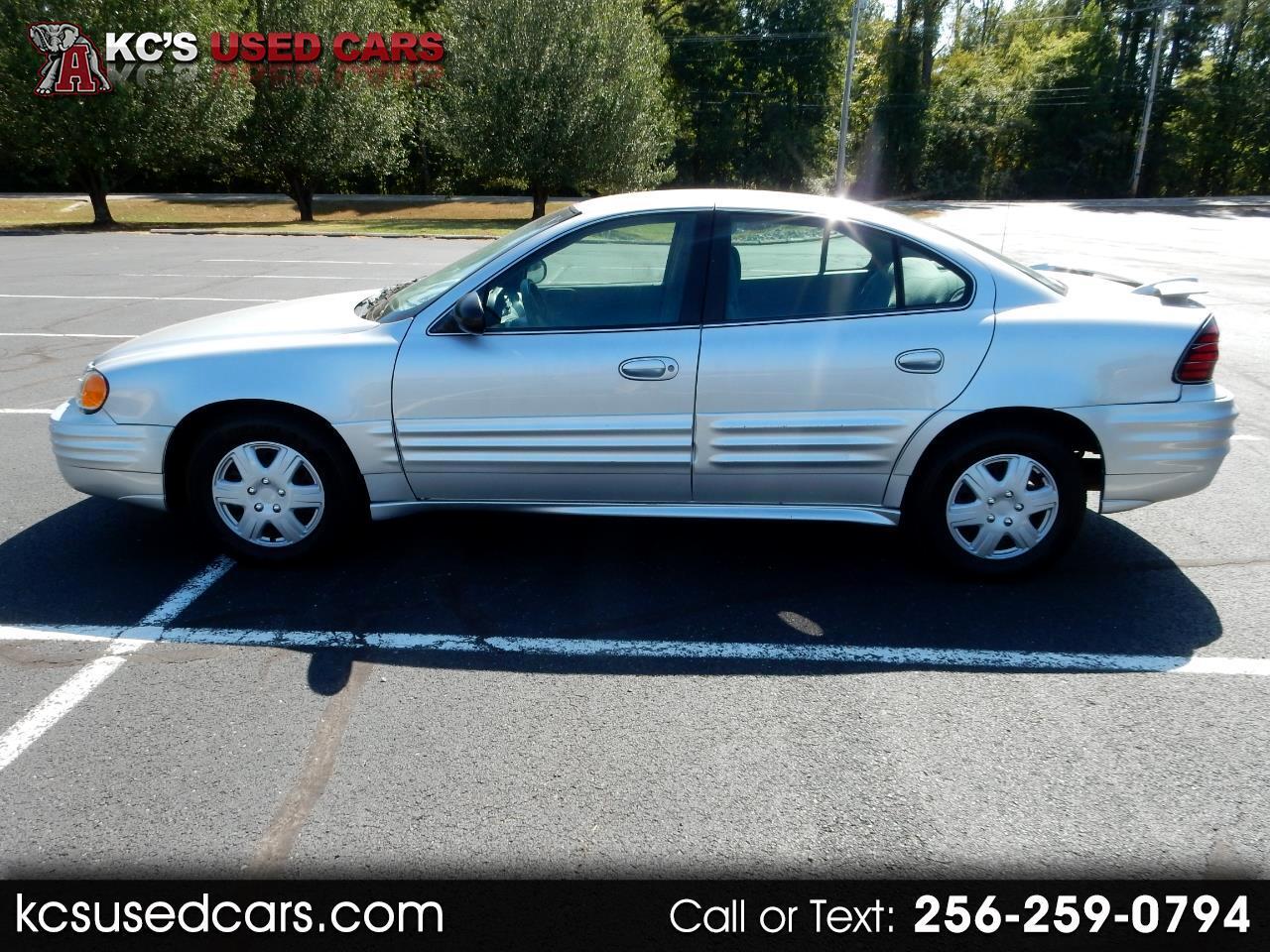 2002 Pontiac Grand Am 4dr Sdn SE