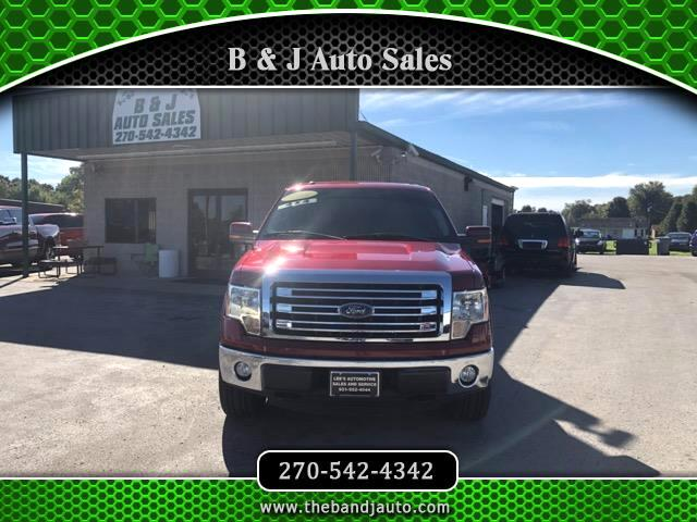"2014 Ford F-150 SuperCrew 150"" Lariat 4WD"