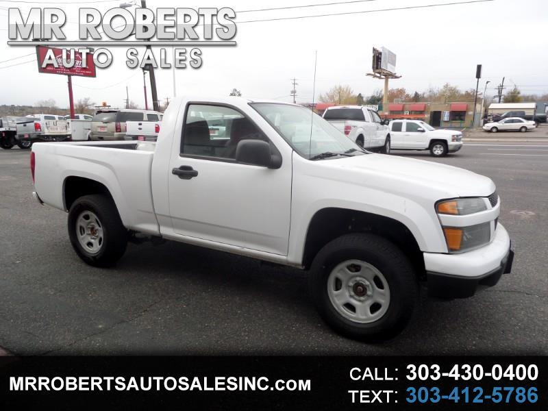 2012 Chevrolet Colorado 4WD Reg Cab Work Truck