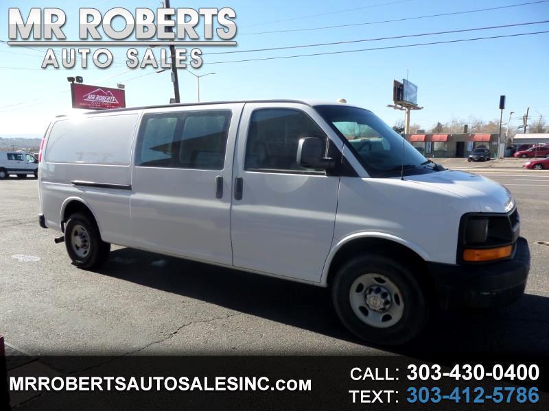 """2007 Chevrolet Express Cargo Van RWD 3500 155"""""""