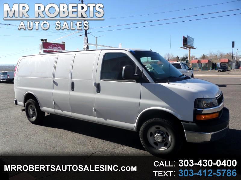 """2015 Chevrolet Express Cargo Van RWD 3500 155"""""""