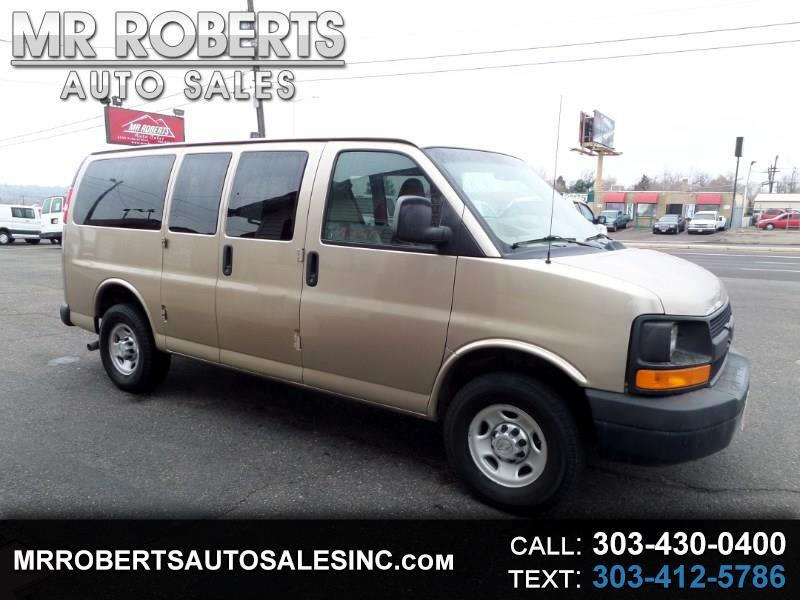 2010 Chevrolet Express Passenger RWD 2500 135