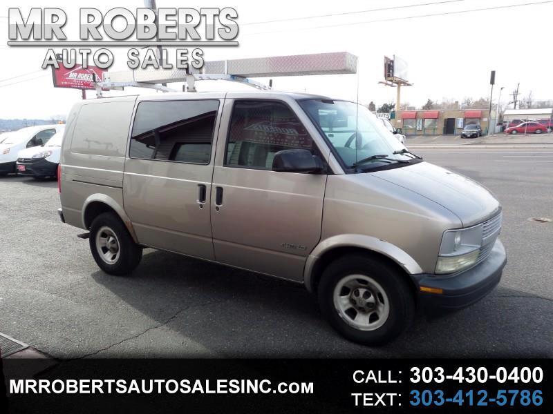"""2001 Chevrolet Astro Cargo Van 111.2"""" WB RWD"""