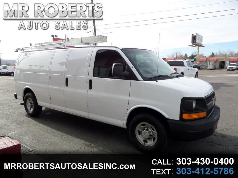 2009 Chevrolet Express Cargo Van Extended RWD 3500 155