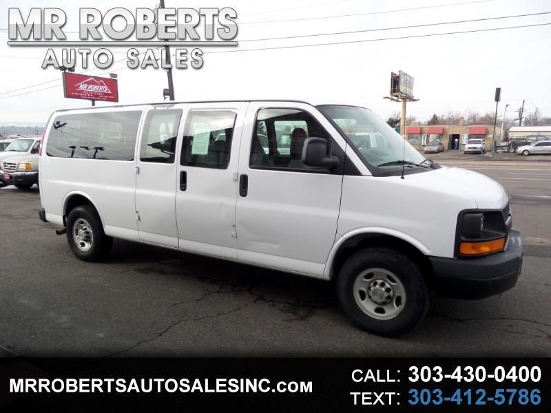 "2007 Chevrolet Express Passenger RWD 3500 155"""