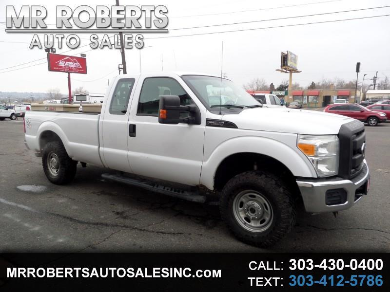 "2012 Ford Super Duty F-250 SRW 4WD SuperCab 158"" XL"