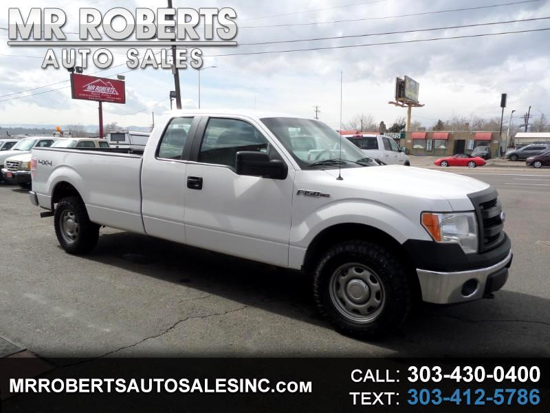 """2014 Ford F-150 4WD SuperCab 163"""" XL w/HD Payload Pkg"""