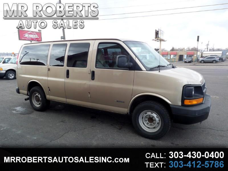 "2005 Chevrolet Express Passenger 3500 135"" WB RWD"