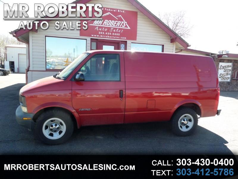 "2002 Chevrolet Astro Cargo Van 111.2"" WB AWD"