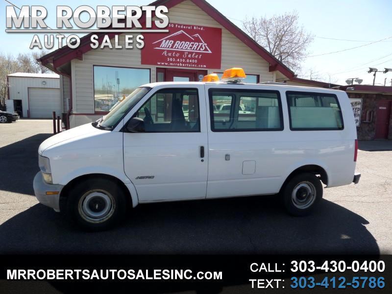 """2000 Chevrolet Astro Cargo Van 111.2"""" WB RWD"""