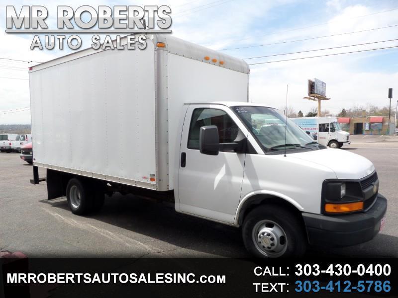 "2010 Chevrolet Express Commercial Cutaway RWD 3500 159"" WB Work Van"