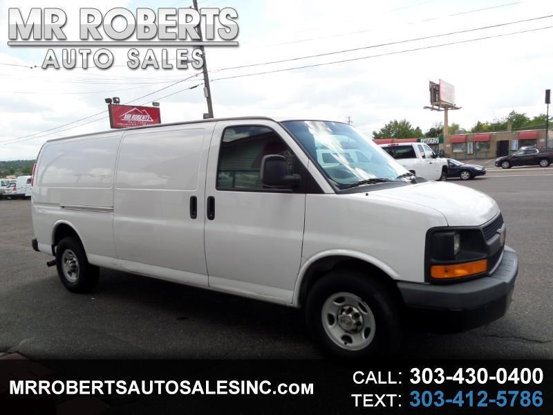 """2013 Chevrolet Express Cargo Van RWD 3500 155"""""""