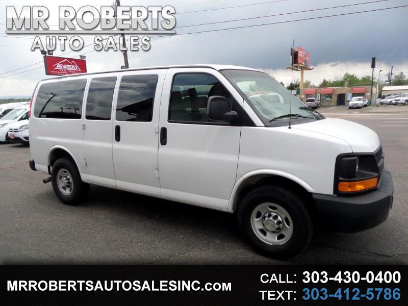 "2012 Chevrolet Express Passenger RWD 2500 135"" 1LS"