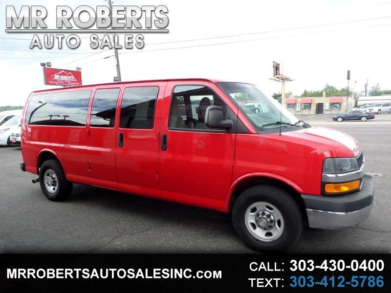 "2013 Chevrolet Express Passenger RWD 3500 155"" LT w/1LT"