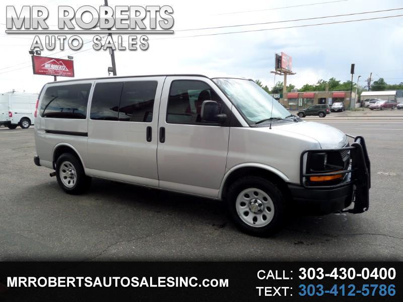 """2014 Chevrolet Express Passenger AWD 1500 135"""" LS"""