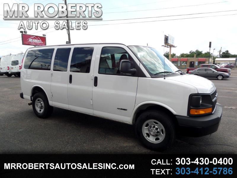 "2014 Chevrolet Express Passenger RWD 3500 135"" LS w/1LS"