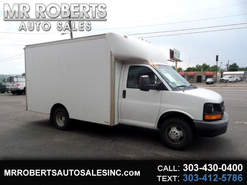 """2013 Chevrolet Express Commercial Cutaway 3500 Van 139"""""""