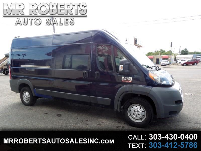 2015 RAM ProMaster Cargo Van 2500 High Roof 159
