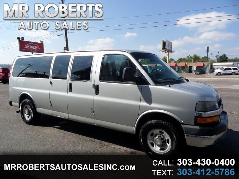 "2010 Chevrolet Express Passenger RWD 3500 155"" LT"